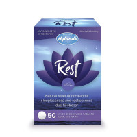 Hyland's Rest Natural Relief of Sleeplessness and Restlessness Due to Stress,  50 ea [354973333215]