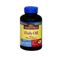 Nature Made Fish Oil, 1200mg, Liquid Softgels 180 ea [031604017149]
