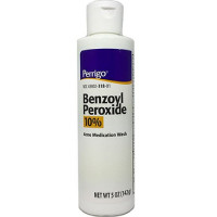 Perrigo Benzoyl Peroxide Acne Medication Face Wash 5 oz [345802318015]