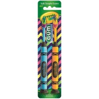 GUM Crayola Toothbrushes Soft 2 ea [070942123396]