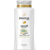 Pantene Pro-V Smooth & Sleek, Shampoo & Conditioner 25.4 oz [080878042609]
