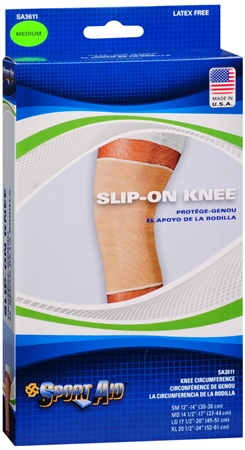 Sport Aid Knee Wrap Slip-On Medium 1 Each [763189016926]