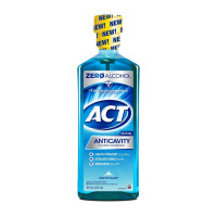 ACT Anticavity Fluoride Mouthwash Arctic Blast, 18 oz  [041167093726]