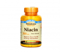 Sundown Naturals Niacin 500 mg Time Release Caplets 200 ea [030768295059]