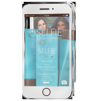 Selfie Tan'N Go 3-Piece Sunless Travel Kit With Travel Bag 1 ea [732907110079]