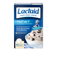 LACTAID Fast Act Chewables Vanilla Twist 60 ea [300450930606]