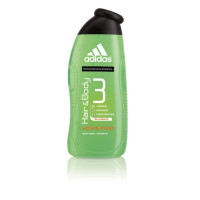 adidas Fragrance Male Personal Care 3-in-1 Body Wash, Active Start 16 oz [3607343766746]