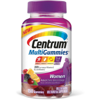 Centrum MultiGummies for Women Multivitamin/Multimineral Supplement Gummies 150 ea [300054861900]