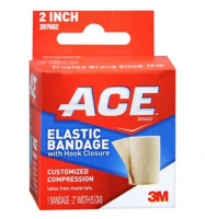 ACE Elastic Bandage (velcro closure) 2 Inches 1 Each [051131203655]