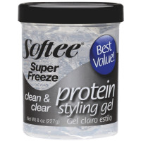 Softee Super Freeze Protein Styling Gel 8 oz [096002001404]