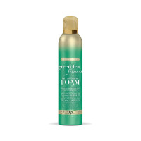 OGX Green Tea Fitness Dry Shampoo Foam, 5 oz  [022796610553]