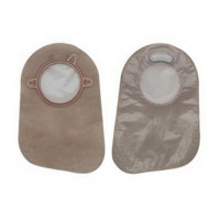 "Filtered Ostomy Pouch New Image TwoPiece System 9"" Length Closed End, 60 ea [610075115068]"