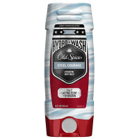 Old Spice Hardest Working Collection Steel Courage Hydro Body Wash, Steel Courage 16 oz [037000971870]