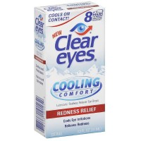 Clear Eyes Cooling Comfort Redness Relief Eye Drops 0.50 oz [678112101252]