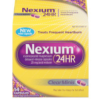 Nexium 24HR Clear Minis Acid Reducers Capsules, 20mg 14 ea [305732452142]