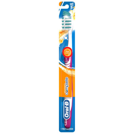 Oral-B Complete Deep Clean Soft Bristles Toothbrush, Assorted Colors 1 ea [300410851125]