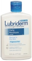 Lubriderm Daily Moisture Lotion Fragrance Free 6 oz [052800488267]