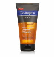 Neutrogena Men Skin Clearing Acne Wash 5.10 oz [070501020296]