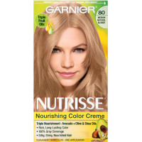 Garnier Nutrisse Haircolor - 80 Butternut (Medium Natural Blonde) 1 Each [603084242573]