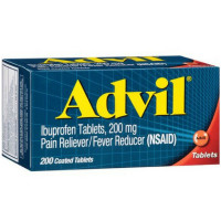 Advil 200 mg Coated Tablets 200 ea [305730154758]