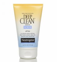 Neutrogena Deep Clean Gentle Scrub, Oil Free 4.20 oz [070501050354]