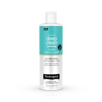 Neutrogena Deep Clean Gentle Purifying Micellar Water and Cleansing Water-Proof Makeup Remover, 12 fl. oz [070501101162]
