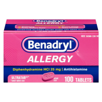 Benadryl Allergy Ultratab Tablets 10 ea [300450170149]