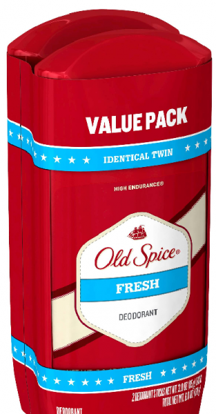 Old Spice High Endurance Deodorant Twin Pack Fresh Scent