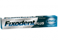 Fixodent Plus TrueFeel Denture Adhesive Cream 2 oz [037000896678]