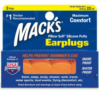 Mack's Pillow Soft Ear Plugs 2 pairs [033732000062]