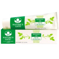 Nature's Gate Fluoride Free Toothpaste, Wintergreen Gel 5 oz [078347031087]