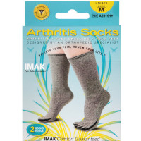IMAK Compression Arthritis Socks, Medium 1 ea [649833201910]
