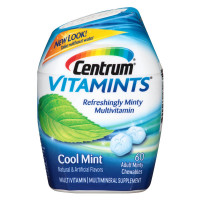Centrum Vitamints Cool Mint Chewables 60 ea [300054452610]