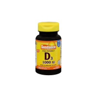 Sundance Vitamins  High Potency Vitamin D3 1000 IU,  100 ea [840093102300]