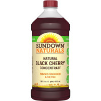 Sundown Naturals Black Cherry Concentrate Liquid 16 oz [030768609368]