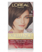 L'Oreal Excellence Creme, (Natural) Medium Brown [5] 1 Each [071249210550]