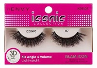 KISS I Envy Iconic Collection Lashes [07] 3D Angle & Volume 1 ea [731509738117]