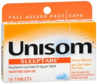 Unisom SleepTabs 16 Tablets [041167006078]