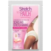 "StretchPatch HIGH POTENCY Formula, Lotion Infused Hot Patch for Scars and Stretch Marks (20""x 15"") 7 ea [709257075075]"