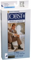 JOBST Medical LegWear For Men Knee High Socks 15-20 mmHg Black Small 1 Pair [035664150006]