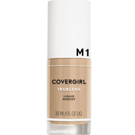 CoverGirl Trublend Liquid Makeup, [M1] Natural Beige  1 oz [008100009916]