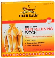 Tiger Balm Patches 5 Each [039278322002]