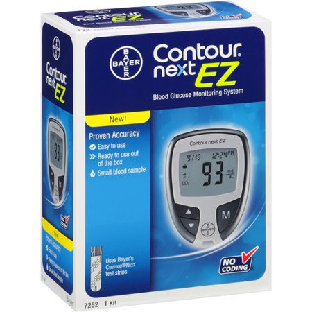 Bayer Contour Next EZ Blood Glucose Monitoring System 1 Each [301937252013]