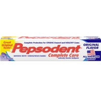 Pepsodent Complete Care Toothpaste Original Flavor 5.5 oz [033200000921]