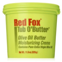 Red Fox Tub O' Butter Olive Oil Butter Moisturizing Creme 11.5 oz [034285931117]