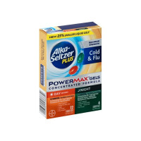 Alka Seltzer Plus PowerMax Day/Night Cold & Flu Relief Liquid Gels, 24 ea [016500576839]