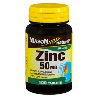 Mason Natural Zinc 50 mg Tablets 100 ea [311845069115]
