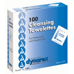 Dynarex Cleaning General Towlettes  100 ea [616784130125]