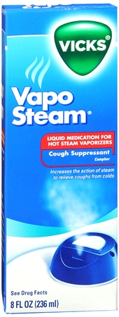Vicks VapoSteam Liquid 8 oz [323900010352]