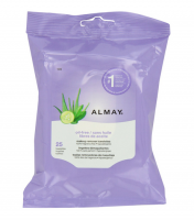 Almay Makeup Remover Towelettes, Oil-Free 25 ea [309975924404]